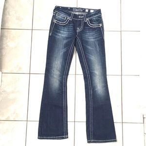 Miss Me Woman's Blue Boot Cut Jeans